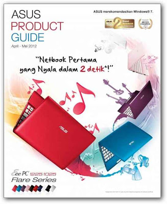 Harga laptop/notebook asus april-mei