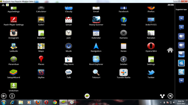 Instal Android di PC/Laptop