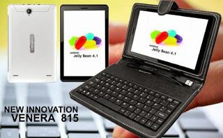 Venera 815 Tablet Android dengan Keyboard Harga Terjangkau