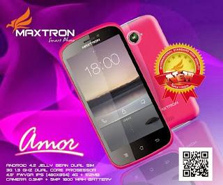 """Maxtron Amor Android 1jutaan Bisa BBM-an"""