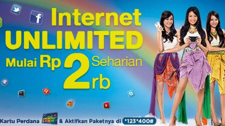 """Paket Internet XL Unlimited"""