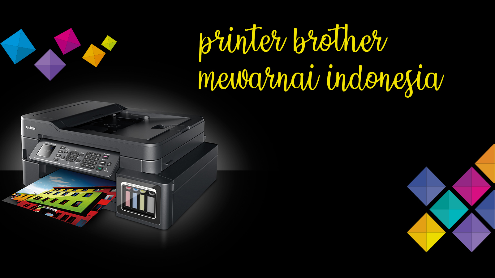 "Kemampuan pintar ""all in one"" membuatnya menjadi sangat praktis dan multifungsi. Seri Ink Tank Printer Brother Indonesia Printer Brother DCP T300 ..."