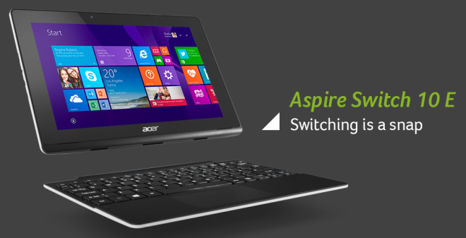 Acer Aspire Switch 10E