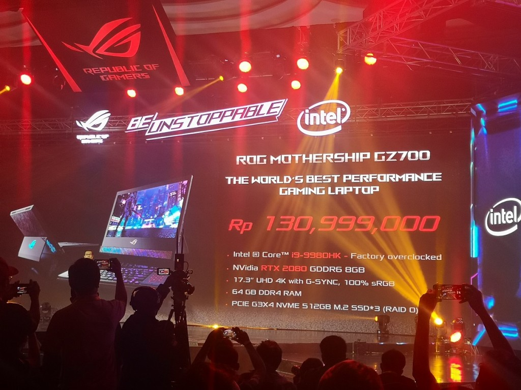 ASUS ROG Mothership GZ700GXR