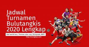 jadwal kejuaraan badminton