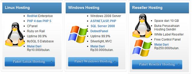 layanan Jakarta Web Hosting