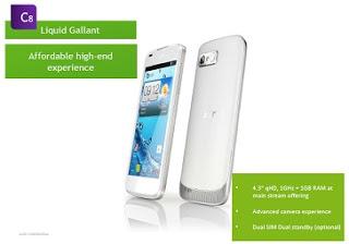 Spesifikasi,Harga Acer Liquid Galant E330 by www.ciungtips.com