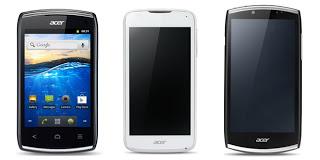 Smartphone Acer terbaru ciungtips