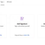 adobe tanda tangan online