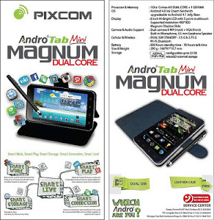 Pixcom AndroTab Mini Magnum Phablet Murah