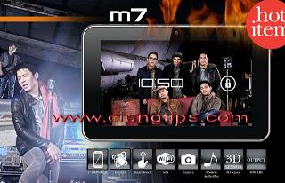 Maxtron Tab M7 Android 7 inci 1jutaan
