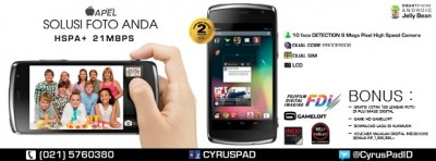 Cyrus Apel Android Dualcore