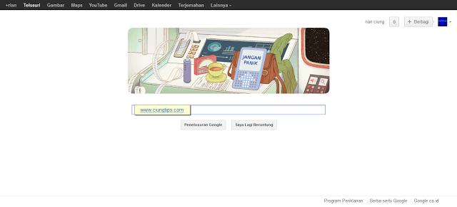 Google Doodle Hari ini Merayakan Ulang Tahun Douglas Adams
