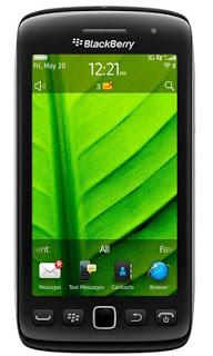 Spesifikasi,Harga Blackberry 9860 Monza update