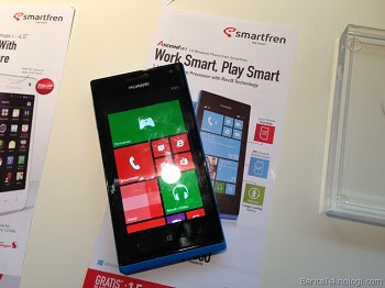 Smartfren Windows Phone Huawei Ascend W1