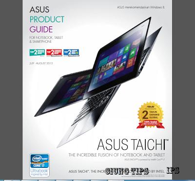 Asus Product Guide Bulan Juli-Agustus 2013