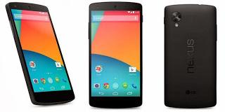 Ponsel Nexus dengan Android KitKat