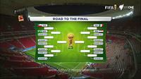"""Jadwal Pertandingan 16 Besar Piala Dunia Brazil"""