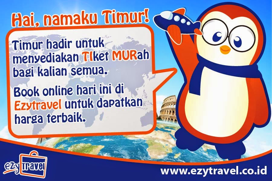 """""""tiket murah ezzy travel"""""""