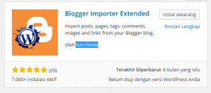 Cara Backup Blogspot dan Pindah ke WordPress