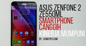 Asus Zenfone 2 ZE550ML Prosesor secanggih notebook