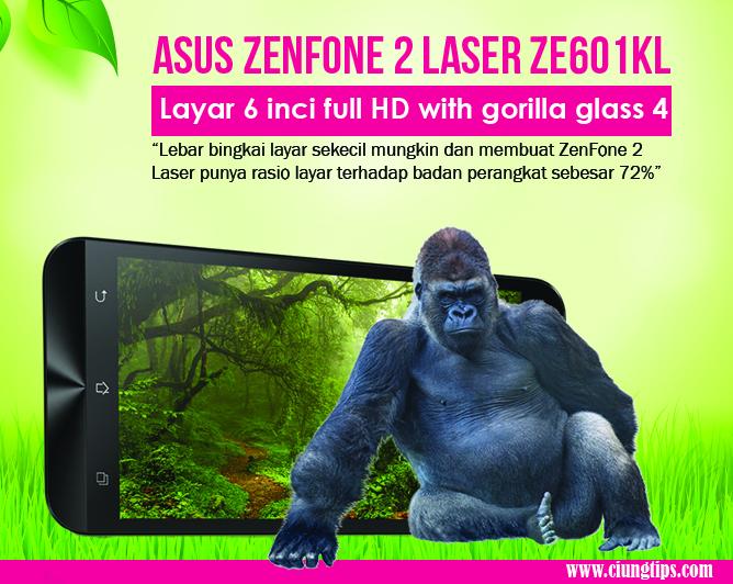 Asus Zenfone 2 laser ZE601KL multimedia mantap