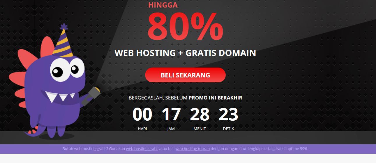 Web hsoting murah hostinger