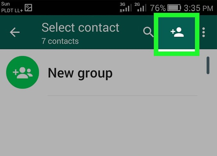 menambah kontak whatsap grup