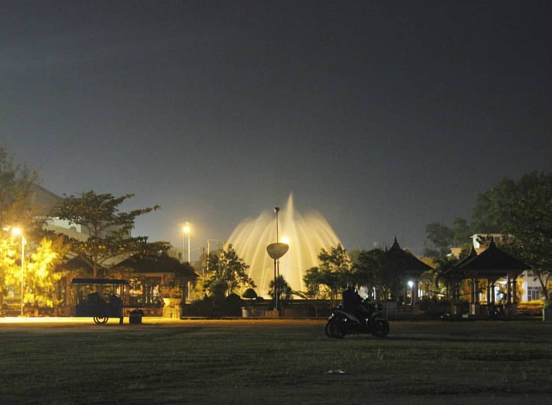 Air Mancur Taman Andam Dewi