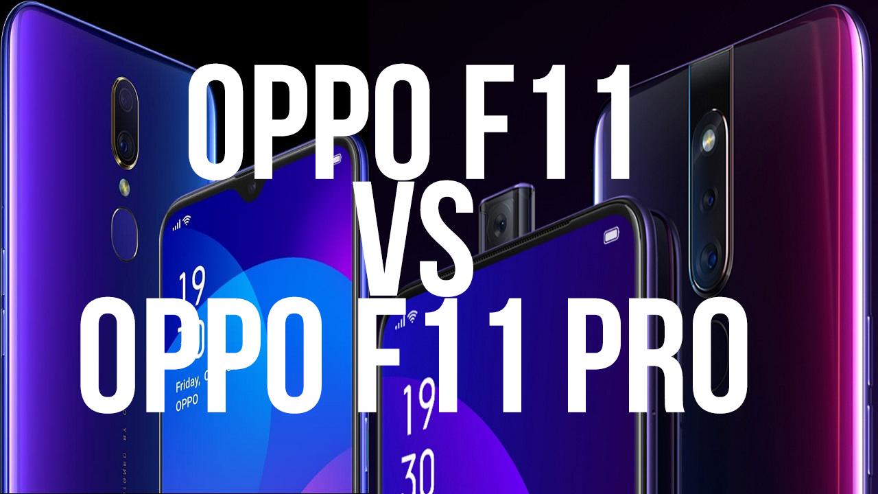 Oppo-F11-vs-Oppo-F11-Pro