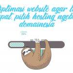 hosting cepat domainesia