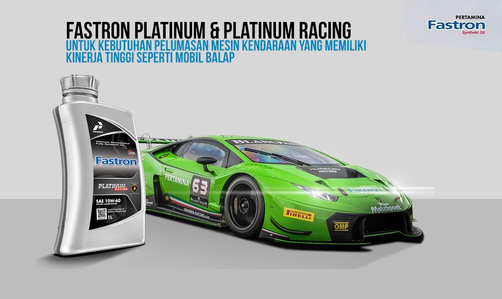 Oli terbaik platinum racing