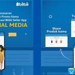 blibli seller app share sosial media