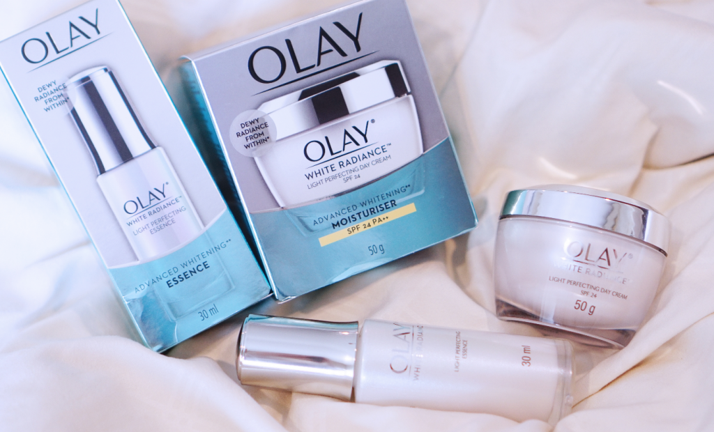 Olay White Radiance Light Perfecting Day Cream