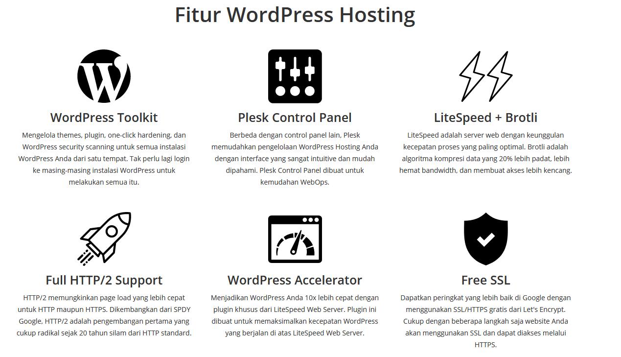 hosting rumah web