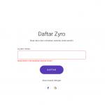 daftar zyro