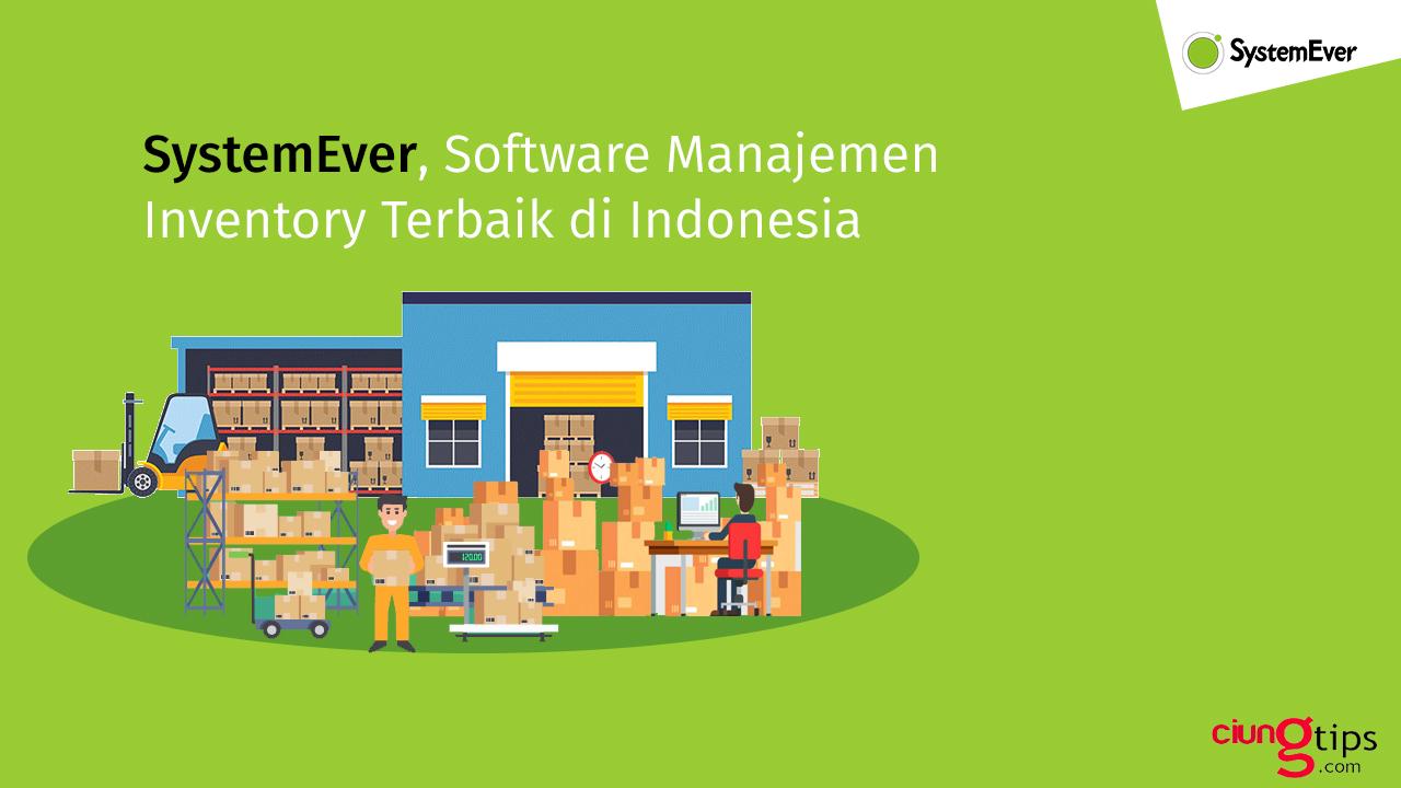 manajemen inventory terbaik systemever