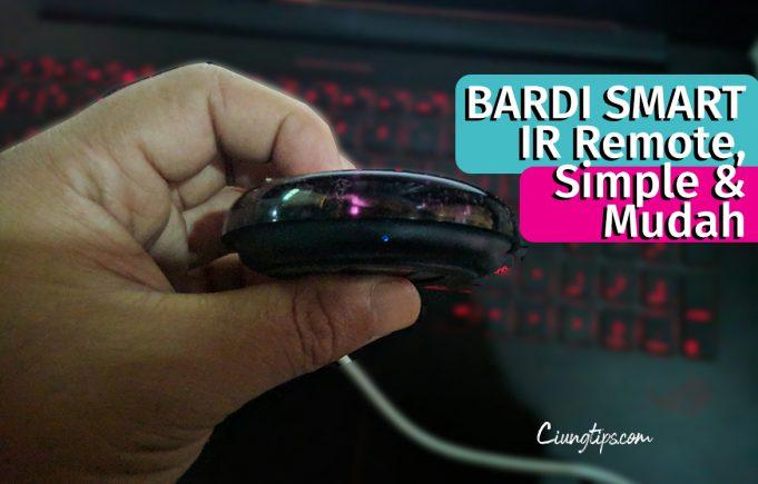 bardi smart IR Review