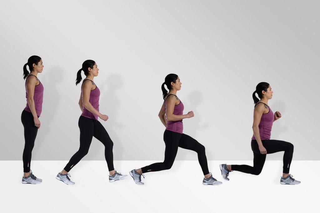 gerakan lunges