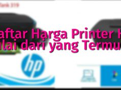 Daftar Harga Printer HP mulai dari yang Termurah