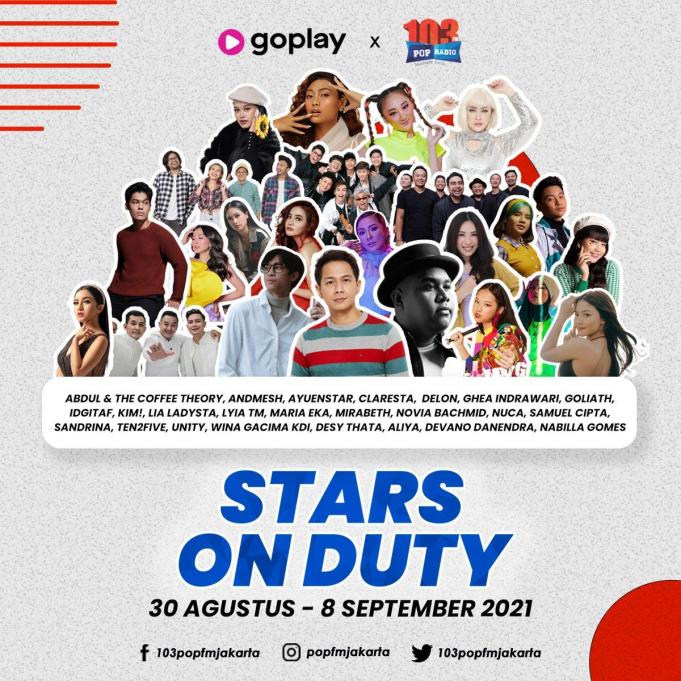 popfm stars on duty