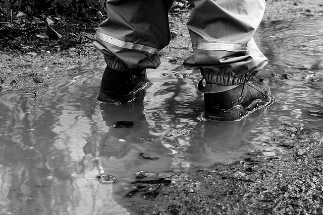 Sepatu basah