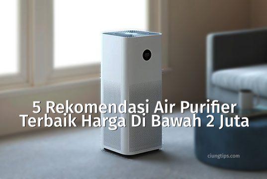 rekomendasi air purifier 2 jutaan